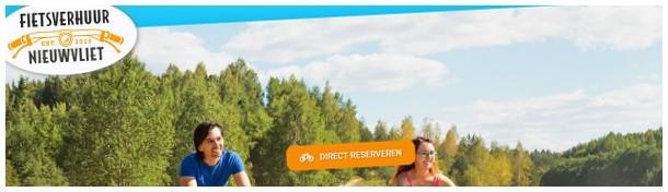 fietsen in Nieuwvliet website